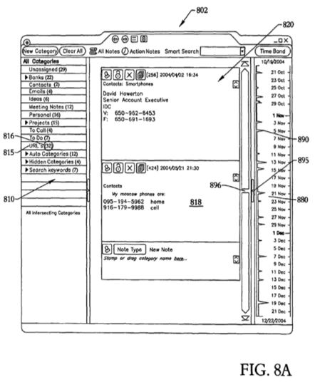 Original Evernote patent