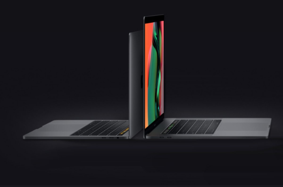 photo image Crumbs. Apple has tweaked the MacBook Pro keyboard