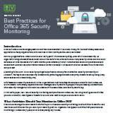 BestPracticesforOffice365SecurityMonitoring