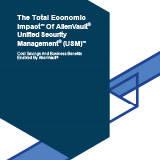 TheTotalEconomicImpactofAlienVaultUnifiedSecurityManagement