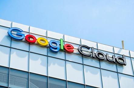 Google Cloud sign on HQ