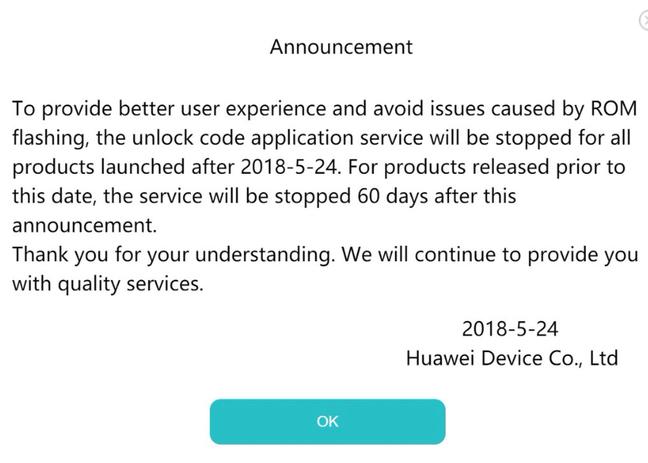 Huawei Tweet