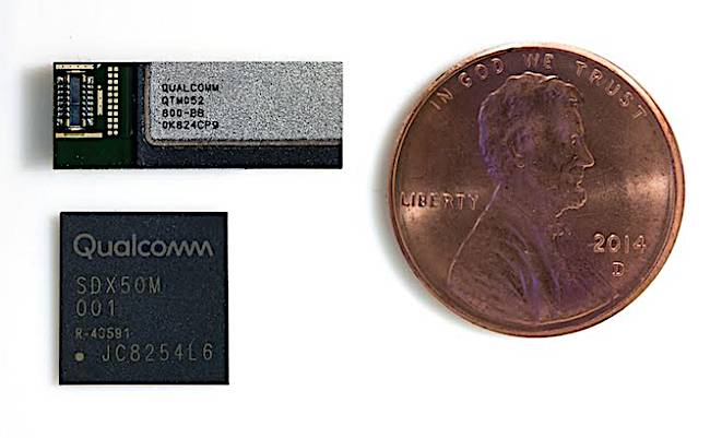 Psst, says Qualcomm    Kid, you wanna see what a 5G antenna