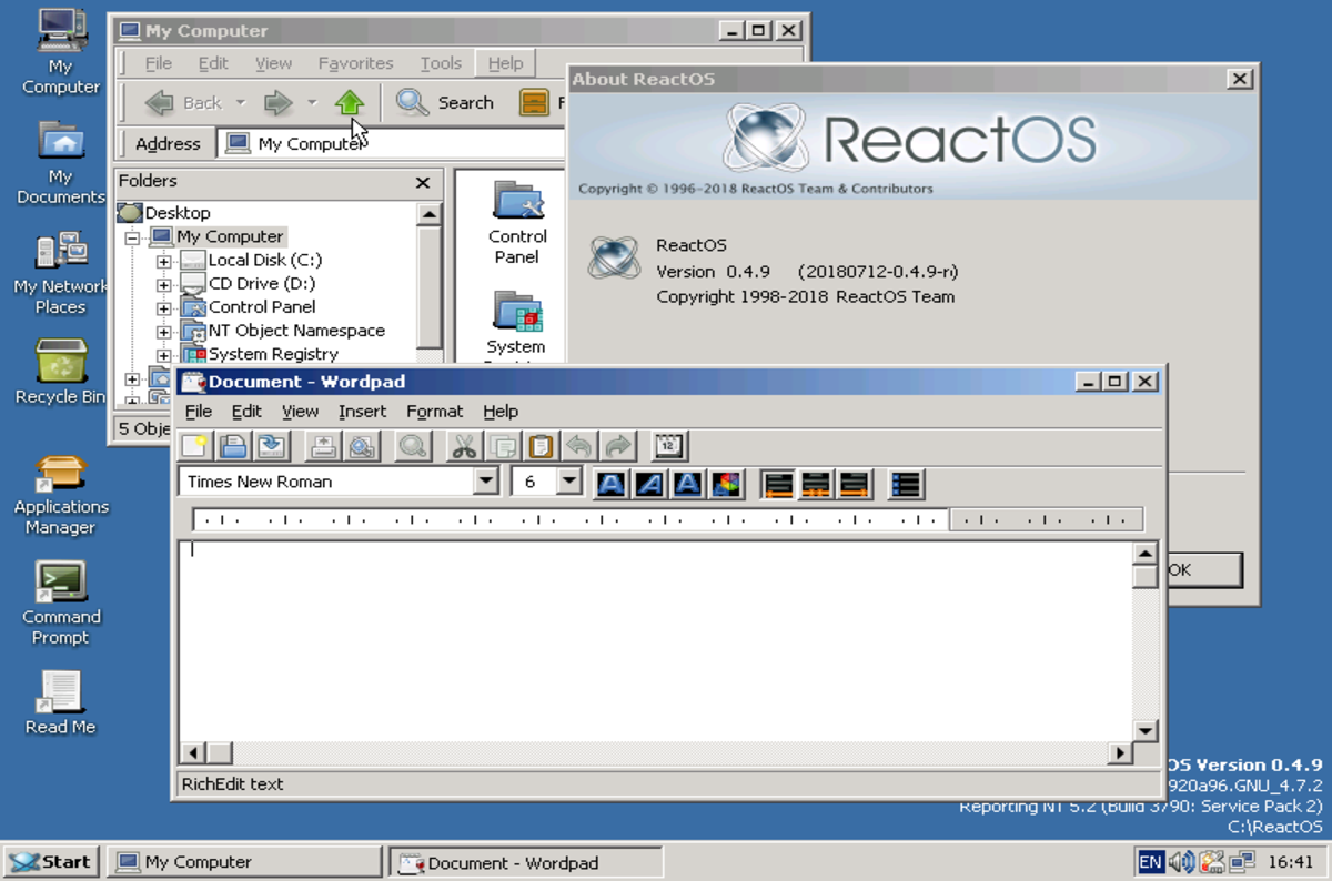 Dc5n United States It In English Created At 2018 07 30 0007 Circuit Board Dream Maker Rs101 Open Source Windows Wannabe Reactos Took Another Tentative Step Towards Usability With A 049 Release Aimed Stability And Self Hosting