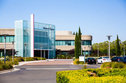 Milpitas, CA, USA: Western Digital Corporation office building. By Valeriya Zankovych/Shutterstock