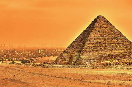 Now that's a dodgy Giza: Eggheads claim Great Pyramid can