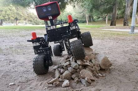NASA's Open Source Rover -- JPL/Caltech image