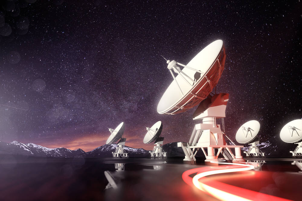 Scientists Just Received a Massively Powerful Signal Coming from Deep Space