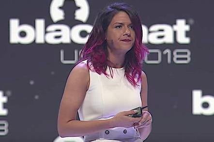 Parisa Tabriz at Black Hat USA 2018