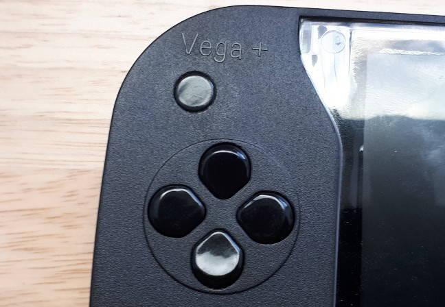 Vega+ D-pad buttons