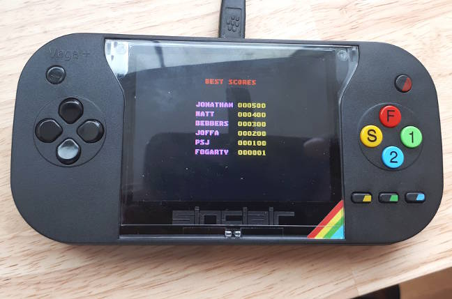 A ZX Spectrum Vega Plus V2 by Retro Computers Ltd