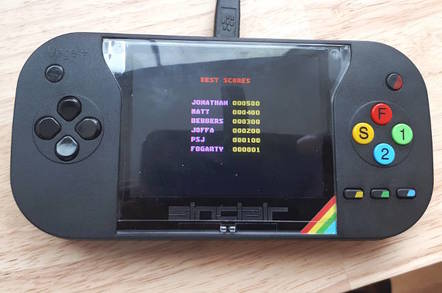 ZX Spectrum Vega+ blows a FUSE: It runs open-source emulator