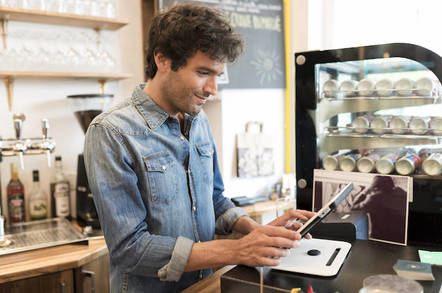 Tablet-based payment system