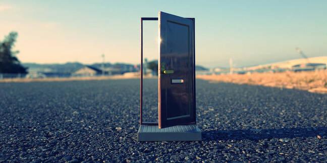 A backdoor in plain sight
