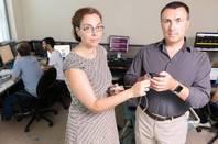 Milos Prvulovic and Alenka Zajic at Georgia Tech