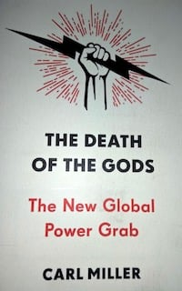 Book cover of Carl Miller's Death of the Gods