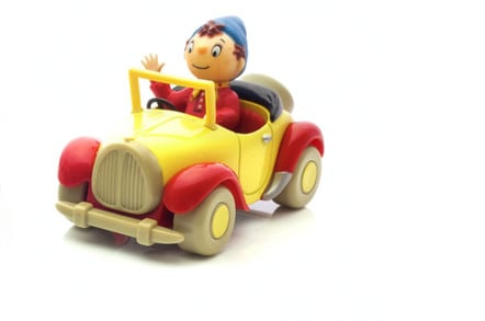 Noddy from Enid Blyton's Noddy . Editorial credit: urbanbuzz / Shutterstock.com