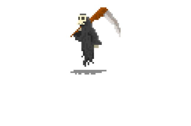 Reaper pixelated