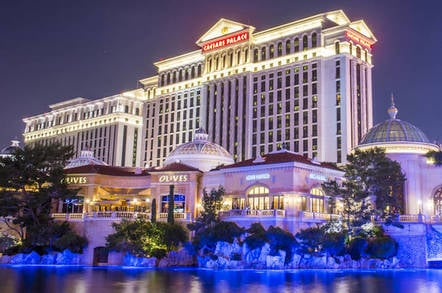 Caesars Palace in Las Vegas, USA