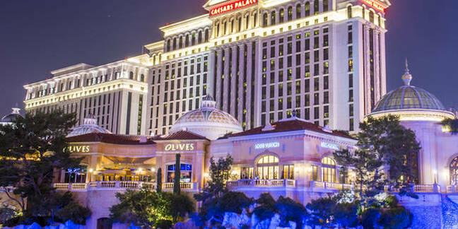Caesars Palace in Las Vegas, USA
