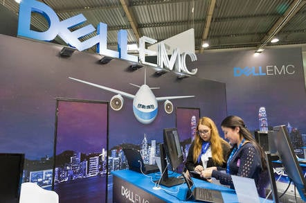 Dell EMC booth