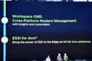Slide teasing ESXi for Arm64