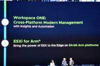 Slide teasing ESXi for Arm64