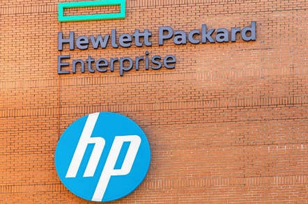 HPE building from Shutterstock