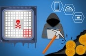 Cryptojacking illustration