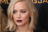 Jennifer Lawrence at a movie opening.