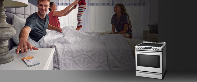 LG Remote controlled oven