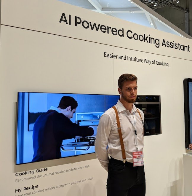 Samsung AI cooking