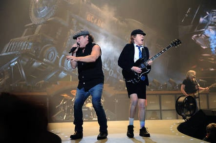Image of rock band AC/DC