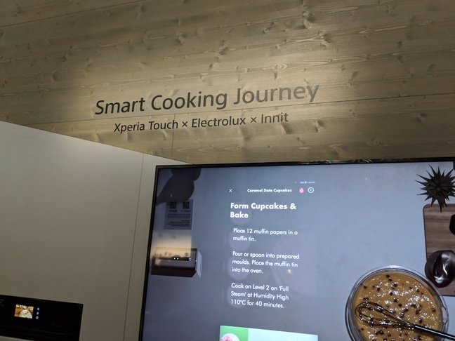 Sony Smart Cooking