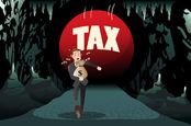 running from the taxman