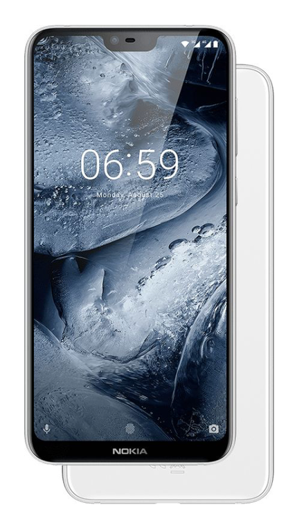 Nokia 6.1 with Notch
