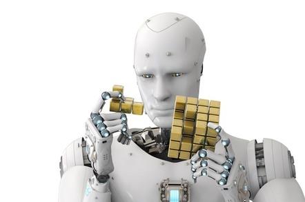 Robot solving Rubik's Cube