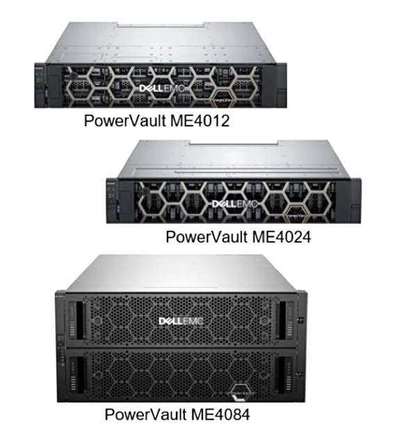 Dell EMC has me-too moment with three new ME4 PowerVault