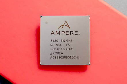 Ampere's 64-bit Arm server chip