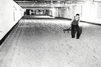 Ansells malting The floors used for barley  malting Image Historic England