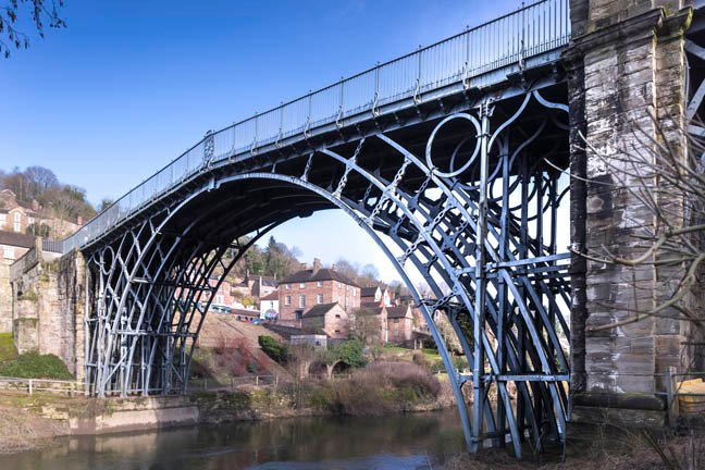 Iron Bridge photo by English Heritage