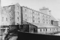 Shrewsbury Flax Mill at work: Image Historic England