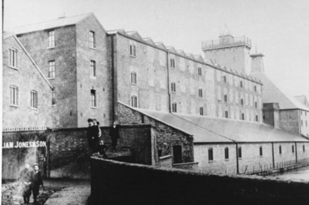 Shrewsbury Flax Mill At Work Image Historic England