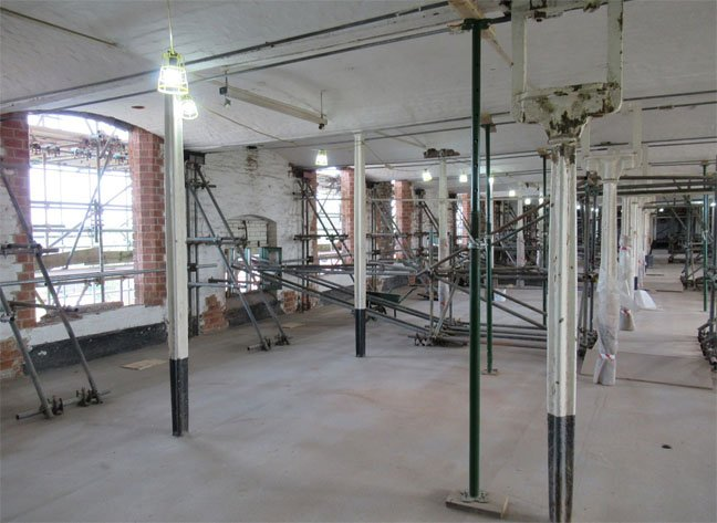 The Mill's third floor today, image copyright: SA Mathieson