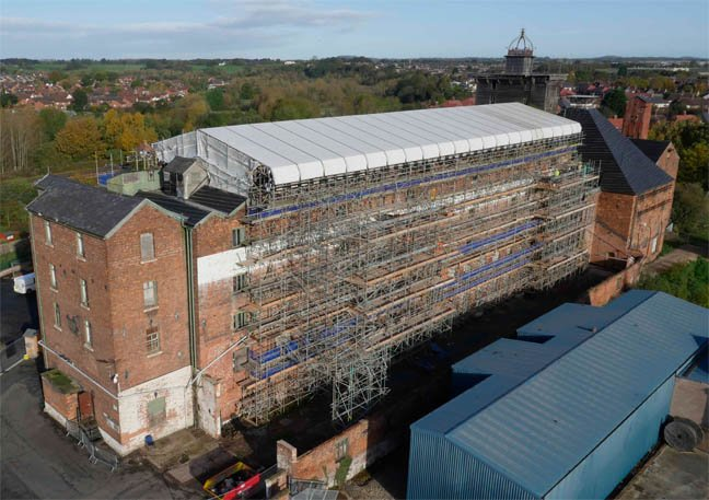 Under reconstruction the mill now, image: Historic England