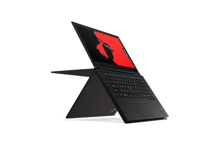 The 2018 ThinkPad X1 Yoga: A bendy-legged workhorse walks into a