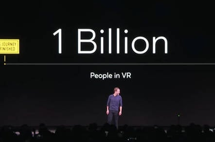 VR going mainstream? Yeah, next year, says Facebook, for the third