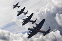 WW2 Lancaster bombers