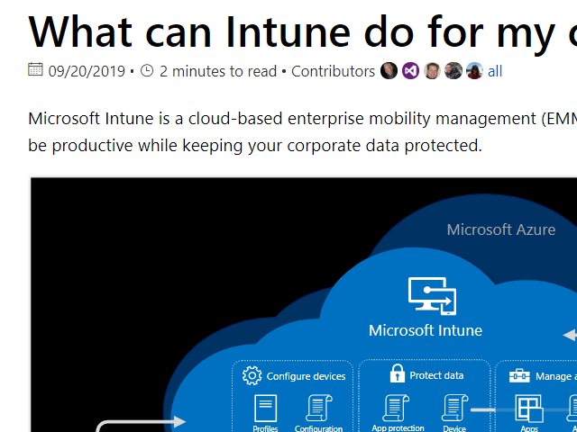 Intune in the future