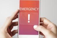alert on mobile phone